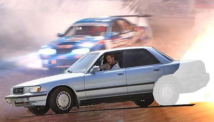 Mel Gibson - Toyota Cressida