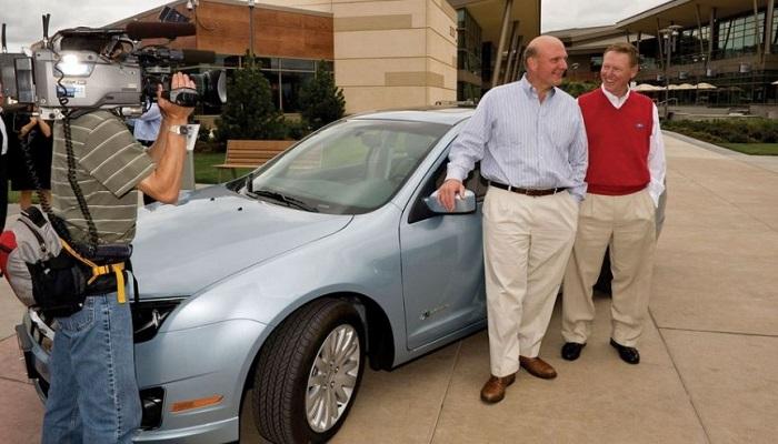 Steve Ballmer - Ford Fusion Hybrid