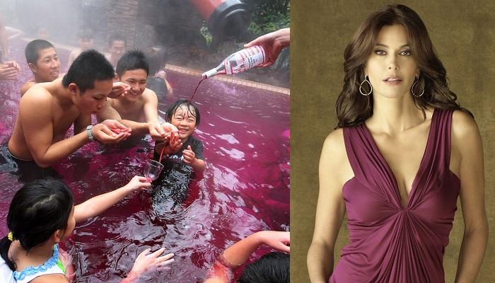Teri Hatcher - Kırmızı Şarap Banyosu