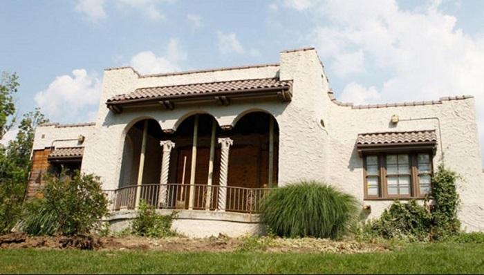 Theda Bara's Home - Cincinnati/Ohio