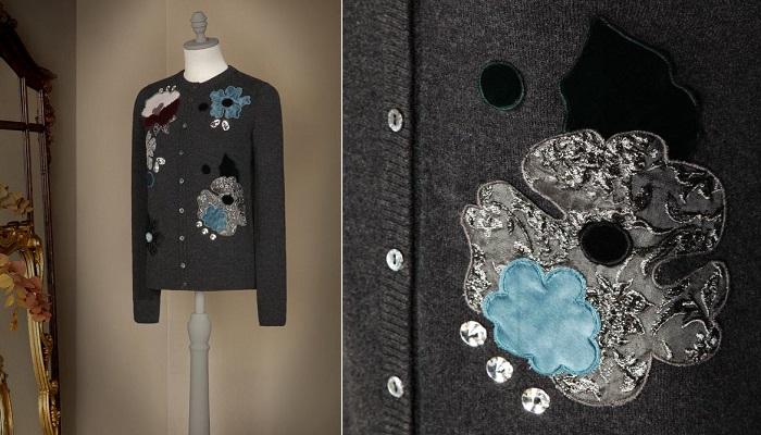 Dolce&Gabbana Çiçek İşlemeli Hırka