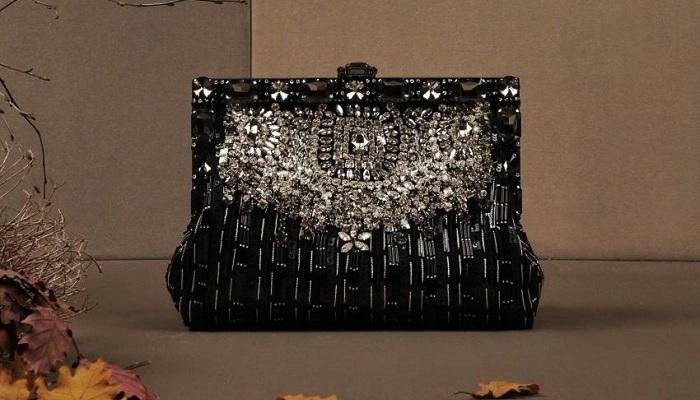 Dolce&Gabbana Işıltılı Pullarla Süslenmiş Vanda Çanta