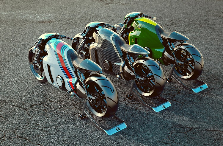 İkonik Araba Üreticisinden İlk Motosiklet: Lotus C-01