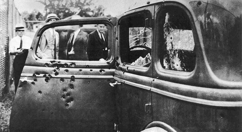 Escobar'ın Bonny&Clyde otomobili