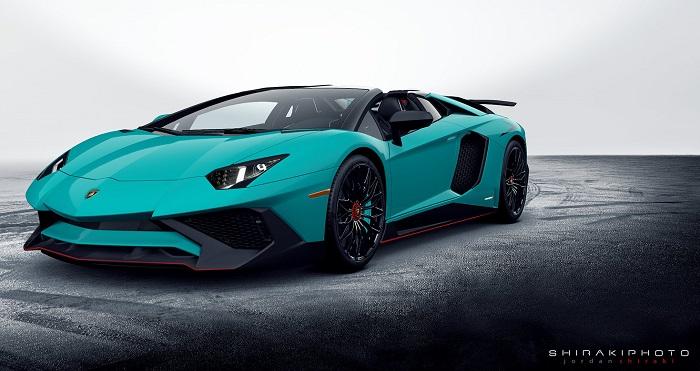 Lamborghini Aventador - LP750-4 SuperVeloce Roadster