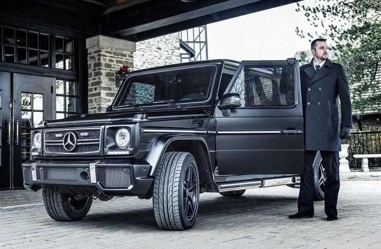 "Mercedes-Benz'in Zırhlı Lüks Aracı: ""Inkas G63 AMG"""