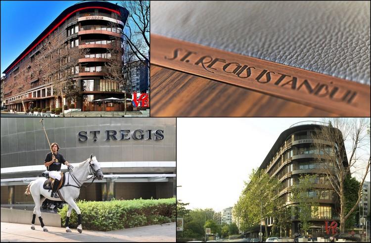 Nişantaşı'nda Yer Alan Lüks Otel: St. Regis Istanbul
