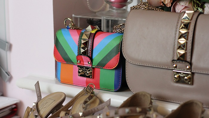 Valentino Renkli Mini Kol Çantası