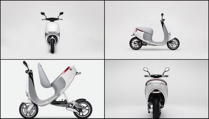 Akıllı Scooter'ın Dış Tasarımı