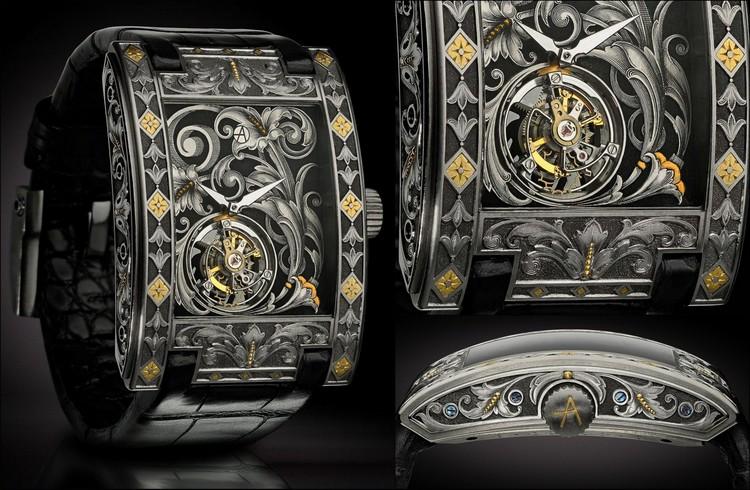 """ArtyA Saat Markasından Eşsiz Tasarım: """"Arabesque Tourbillon"""""""