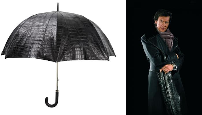 Billionaire Couture Timsah Derisi Şemsiye