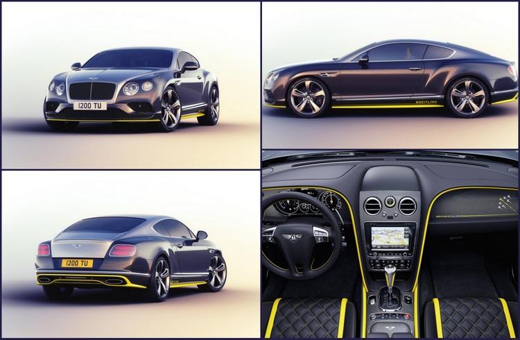 Breitling Jet Team İmzalı Bentley Continental GT Speed