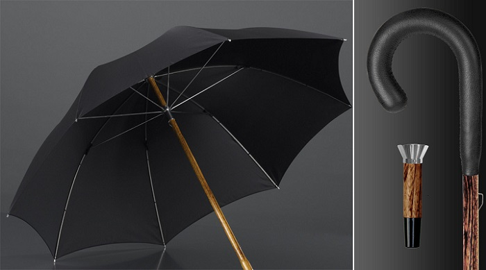Brillant Luxus Schirm Timsah Derisi Şemsiye