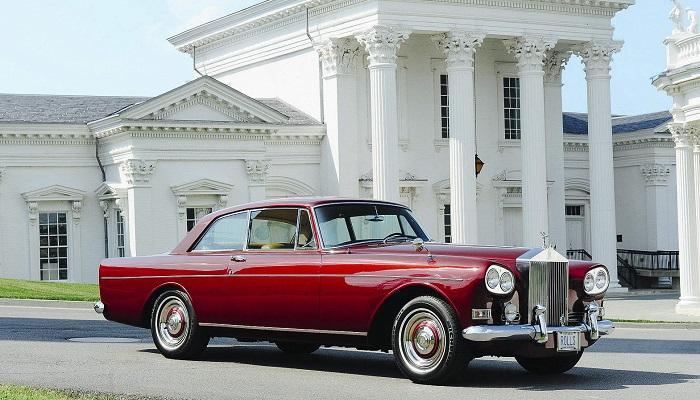 1963 Rolls Royce Silver Cloud III Fixed Head Coupe