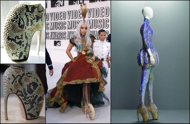 Lady Gaga'nın Aldığı Alexander McQueen İmzalı Armadillo Ayakkabılar