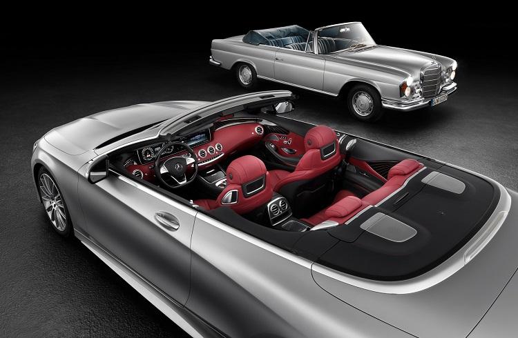 "Mercedes-Benz'in Frankfurt'ta Tanıtacağı ""S-Class Cabriolet"""