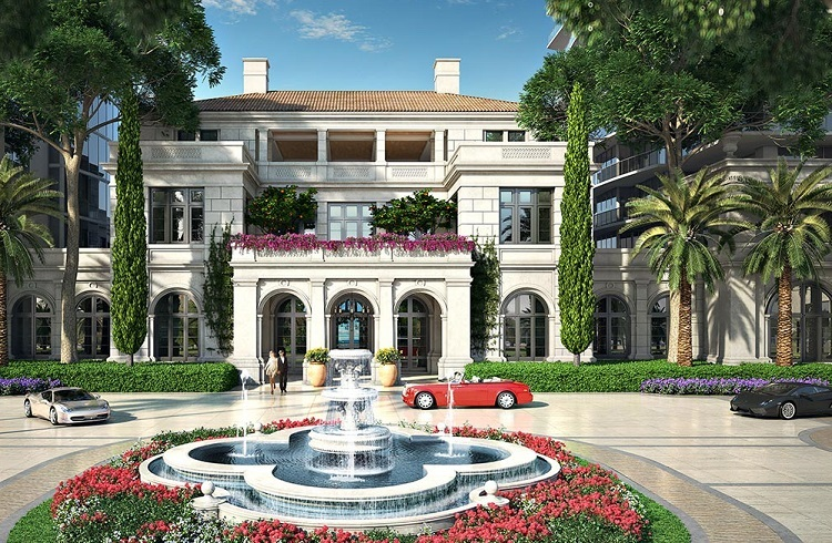"Miami Lüks Rezidans Projesi: ""The Estates at Acqualina"""