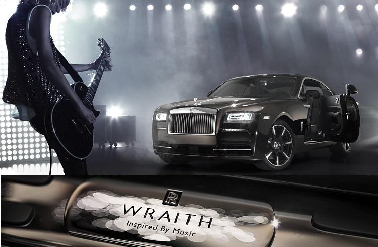 Müzikten İlham Alınarak Tasarlanan Rolls-Royce Wraith