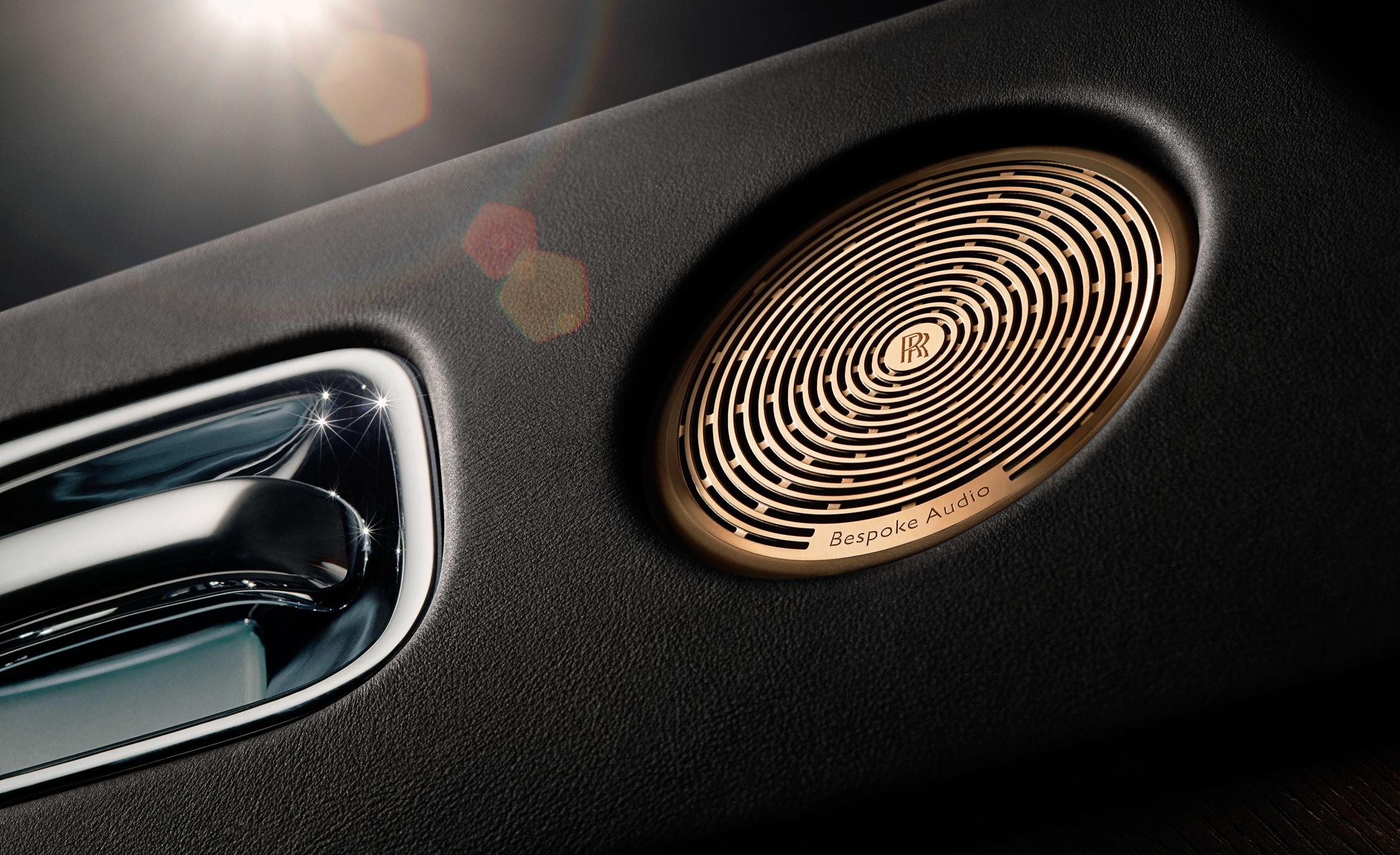 Rolls-Royce Wraith'den Müzik Severlere Eşsiz Tasarım