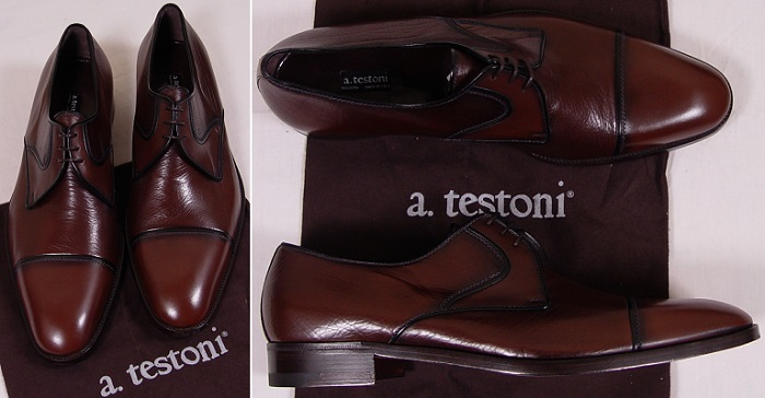 Testoni Timsah Derisi Ayakkabı
