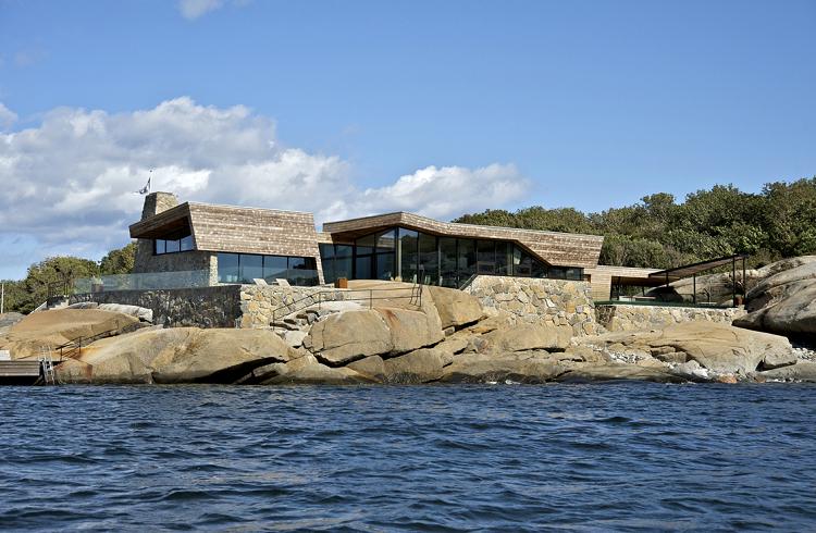 Vestfold Kıyısındaki Lüks ve Modern Yazlık Ev