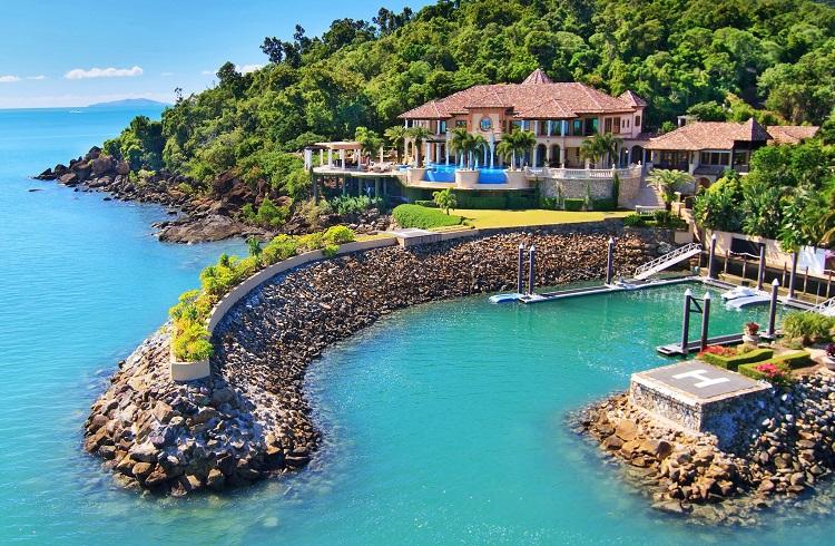 """Avustralya'nın En Güzel Kıyı Evi: """"Mandalay House"""""""