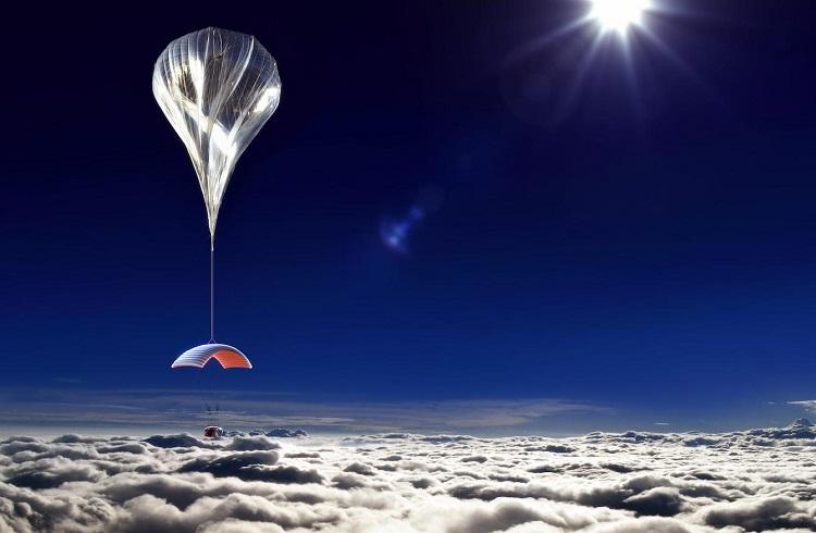 """Balonla Yapılan İnanılmaz Uzay Yolculuğu: """"World View Enterprises"""""""