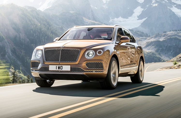 """Bentley'den Enlerle Dolu Bir Tasarım: """"Bentayga SUV"""""""