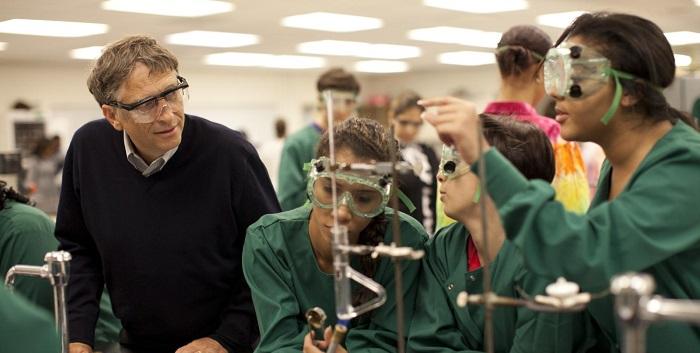 Bill Gates'in Eğitim Hayatı