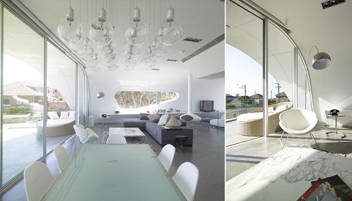 Çarpıcı Tasarımıyla Moebius House