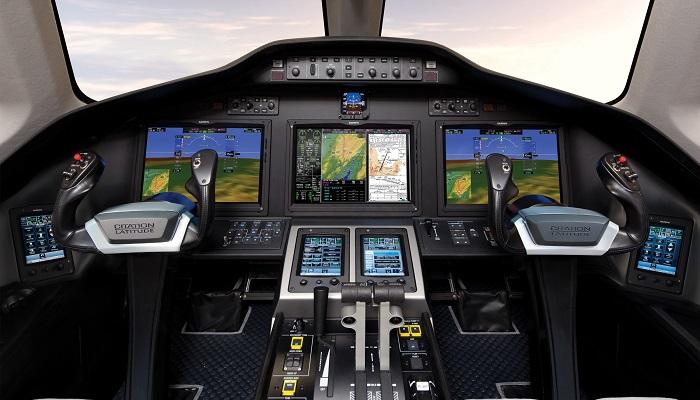 Cessna Citation Latitude Kokpit