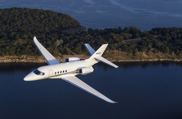 "Cessna'dan Yeni Lüks İş Jeti: ""Citation Latitude"""