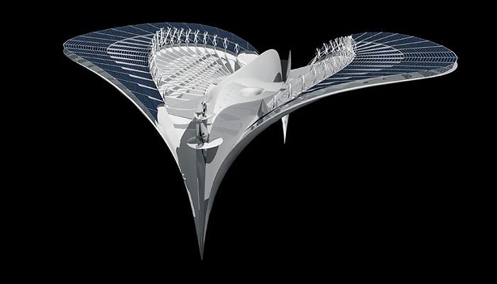 """Çağ Ötesi Tasarımıyla Dikkat Çeken Deniz Aracı """"Meriens"""""""