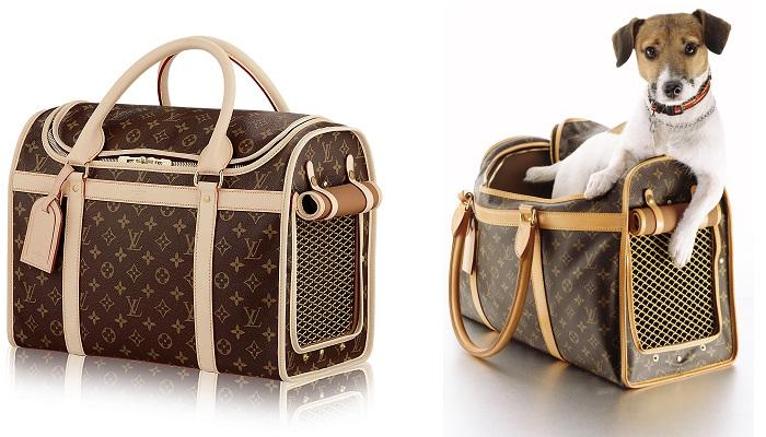 Louis Vuitton Köpek Taşıma Çantası