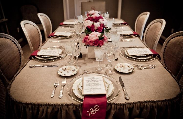 Dünyanın En Pahalı 10 Yemek Masası