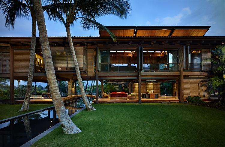 """Eşsiz Tasarımıyla Ödül Alan Lüks Ev: """"Kona Residence"""""""