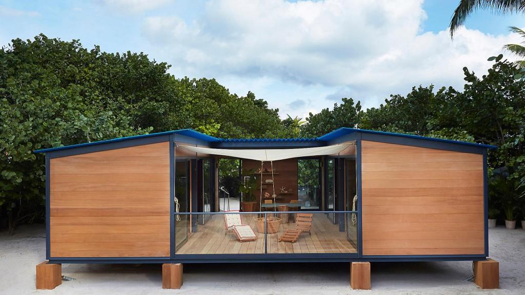 "Louis Vuitton ""1934 Charlotte Perriand Tasarımı"" Yazlık Ev"