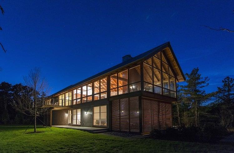 "Massachusetts'teki Lüks Kaçış Noktası: ""North Pamet Ridge House"""