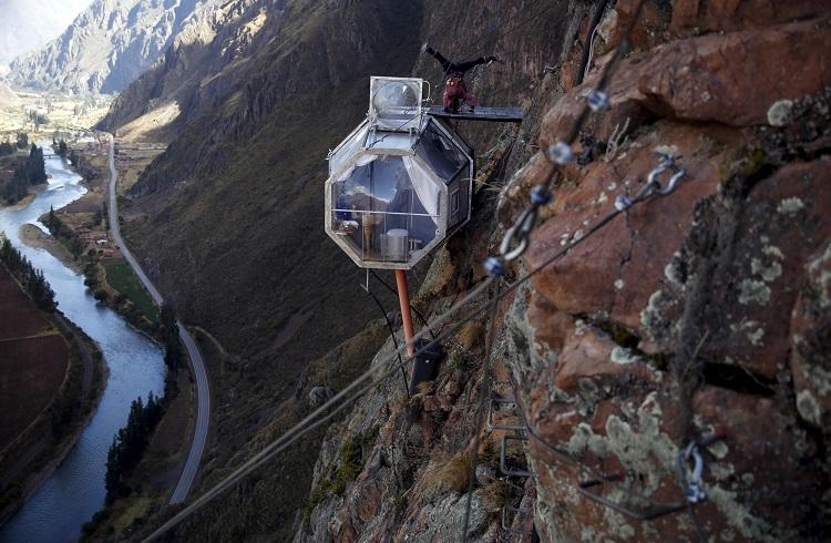 """Metrelerce Yüksekte Unutulmaz Bir Deneyim: """"Skylodge Adventure Suite"""""""