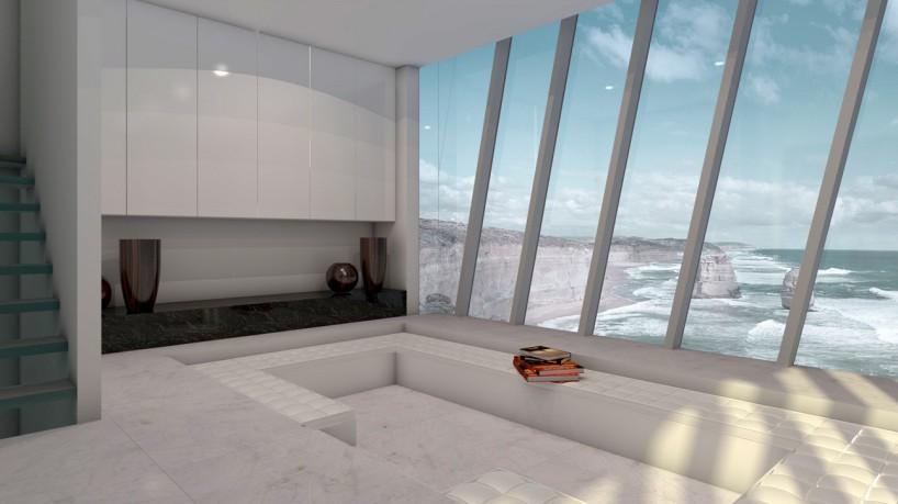Şaşırtıcı Mimarisiyle Uçurum Ev Projesi
