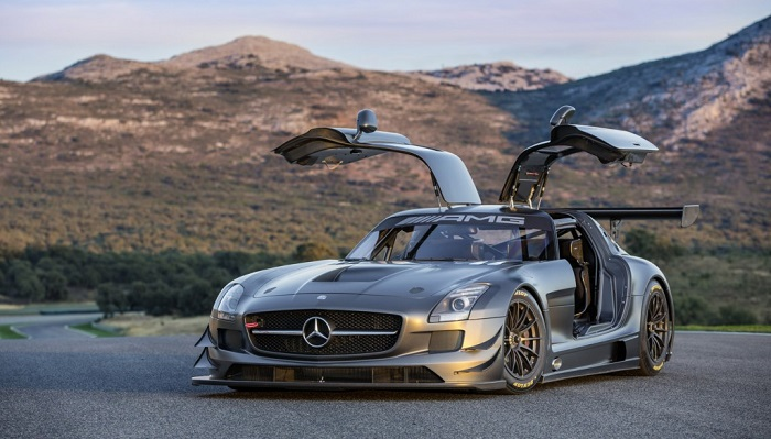 2012 Mercedes-Benz SLS AMG GT3
