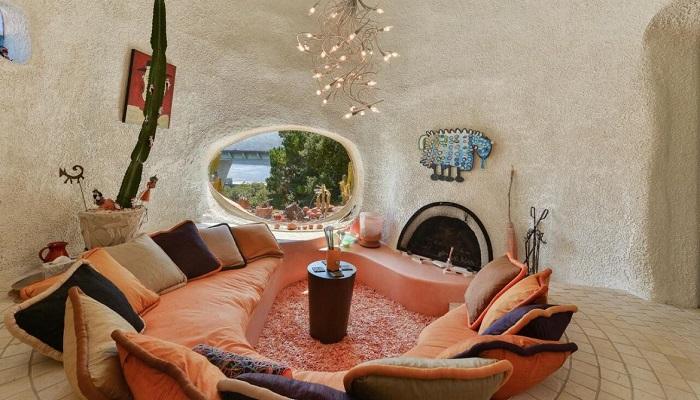 William Nicholson Tarafından Tasarlanan Flintstone House Salon