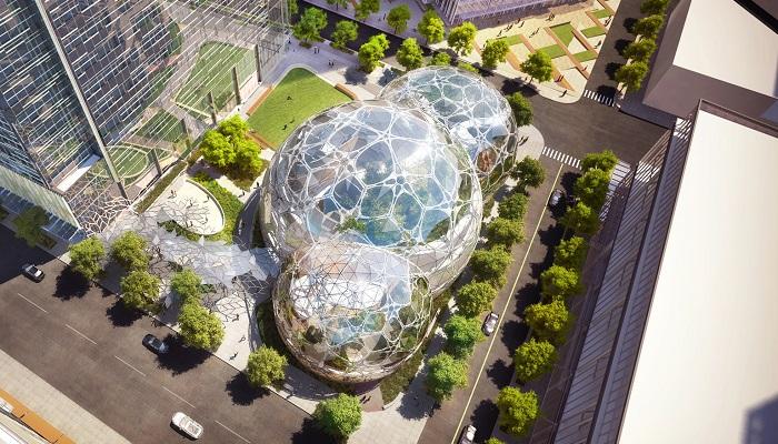 Amazon'un Yeni Genel Merkezi - Seattle
