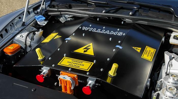 Aston Martin RapidE Konsepti Motor