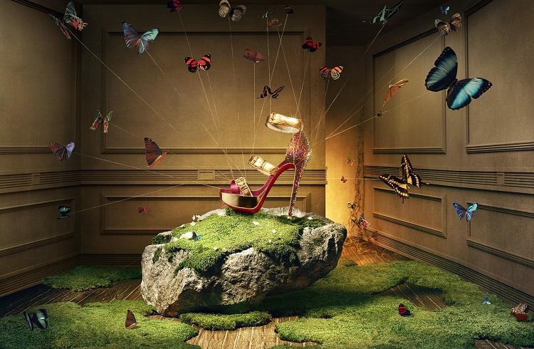 """Christian Louboutin İmzalı Özel Üretim Ayakkabılar: """"Made to Measure"""""""