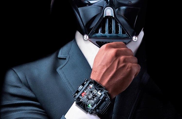 """Devon Tasarımı Muhteşem Bir Saat: """"Star Wars"""""""
