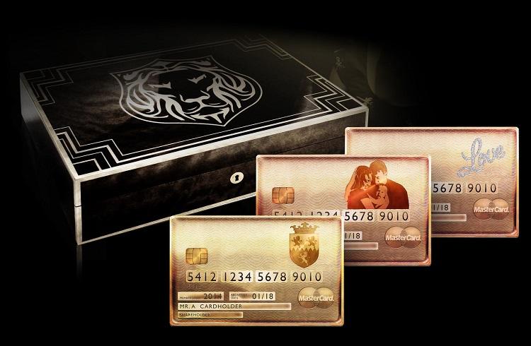 Dünya'da Bir İlk! Kişiye Özel Üretilen Gold Mastercard