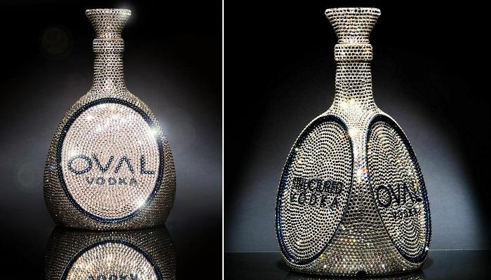 Swarovski Taşlı OVAL Votka