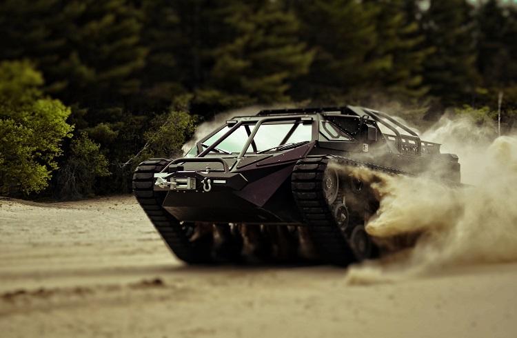"""Dünyanın İlk Lüks Tankı: """"Ripsaw EV2"""""""