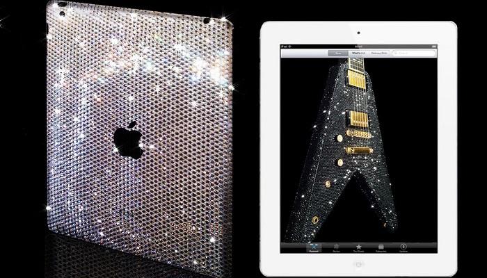 Elmas Taşlı iPad Mini Kılıfı